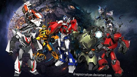 wallpaper anime transformers transformers prime wallpapers hd wallpaper cave