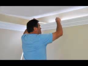 Cornice Polystyrene Install Indirect Lighting In Crown Molding By Creative