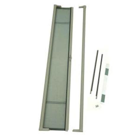 retractable screens for doors home depot odl brisa sandstone retractable screen door brtlae