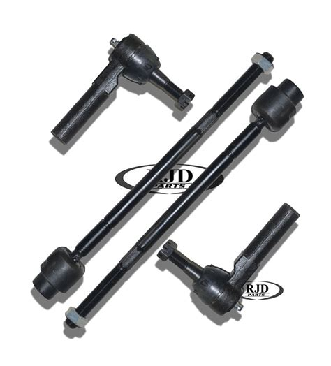 Tie Rod End Terod Delta 2 outer inner tie rod ends chevrolet pontiac new ebay