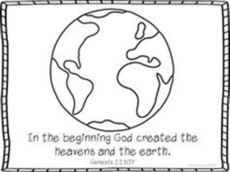 preschool coloring pages of creation god the creator creation coloring page unit 1
