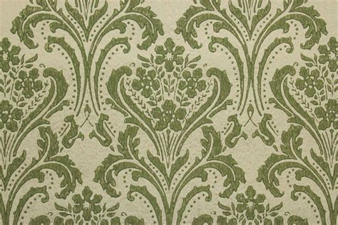 green vintage pattern wallpaper 10677 green and gold wallpapers group 49