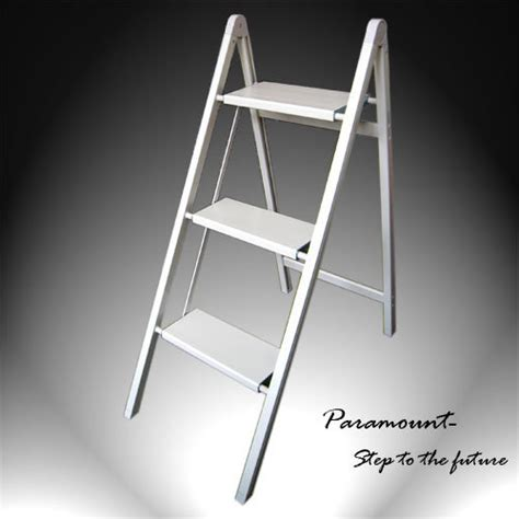 ultra slim aluminum 3 step stool 220 pounds load capacity