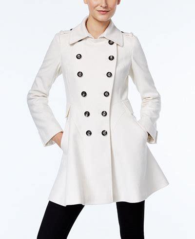 details about yohji yamamoto mainline flared wool peacoat sz 2 via spiga double breasted flared peacoat coats women