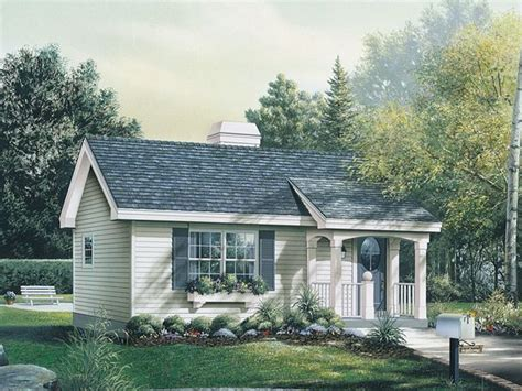 in law cottage house plan 009d 7501