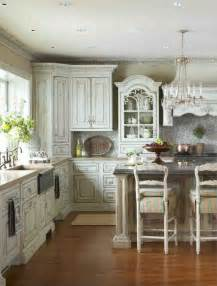 Shabby Chic Kitchen Cabinet 32 Sweet Shabby Chic Kitchen Decor Ideas To Try Shelterness