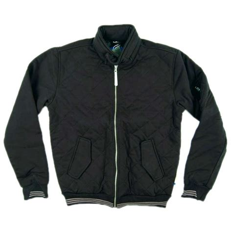 Adidas Originals Quilted Jacket by Adidas Originals Quilted Sweat Jacket Black Mens Jackets