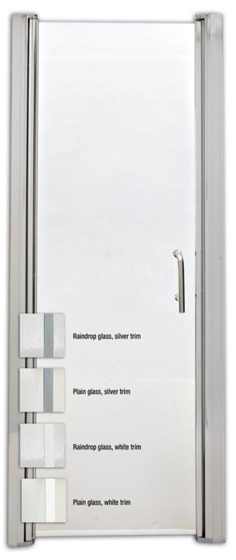 how to fit a shower door mirolin frameless swing shower door to fit 3
