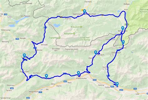 Motorradtouren Wetter by Wettersteingebirge Alpen Motorrad