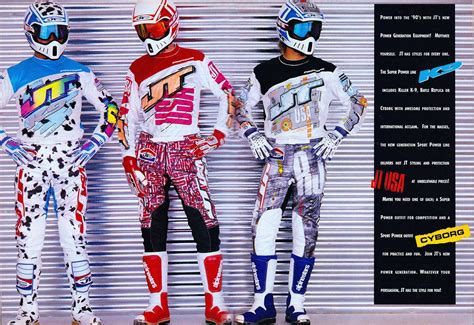jt racing motocross gear part 2 of moto gear history on jt racing in the 1990s is