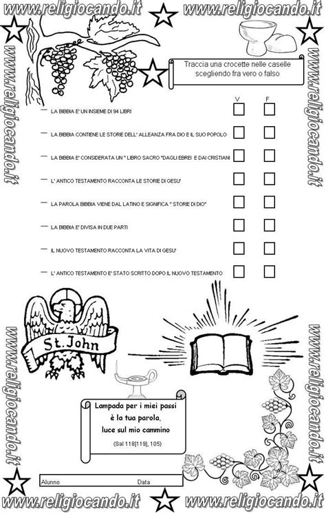 prove d ingresso classe quarta primaria prova di ingresso di religione cattolica per la classe