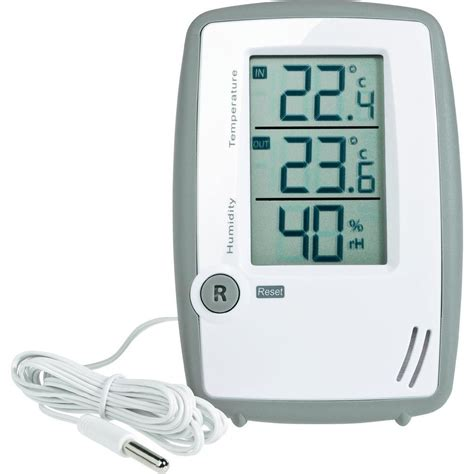 Thermohygrometer Tfa corded thermo hygrometer tfa 30 5024 grey from conrad