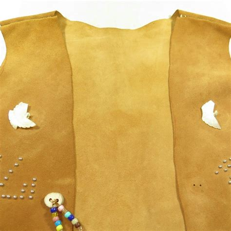 Handmade Leather Vest - southwestern handmade suede vest mens xl american
