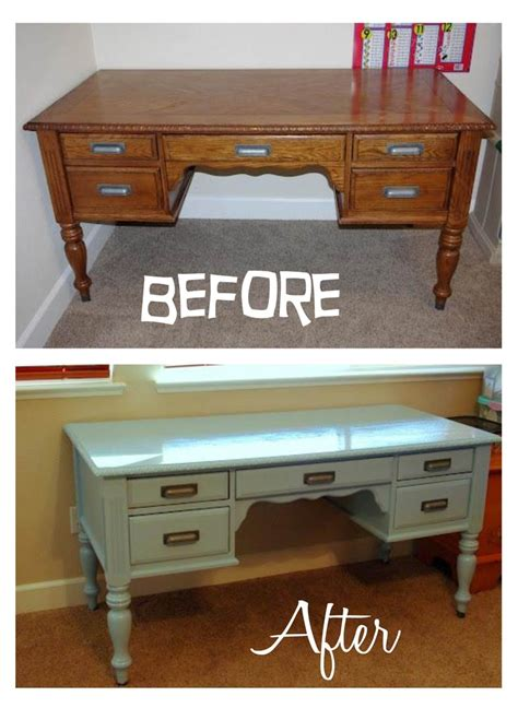 Redoing A Desk by Pin By Debbie On Redo