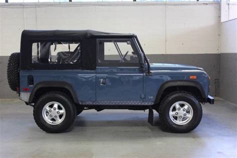 automobile air conditioning service 1994 land rover defender free book repair manuals beautiful 1994 land rover defender 90 only 50 556 miles 5 speed ac serviced for sale land