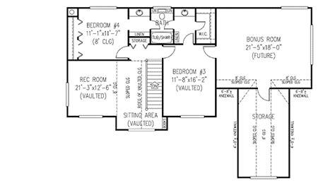 4 bedroom farmhouse plans 3 or 4 bedroom country farmhouse plan 6542rf 1st floor