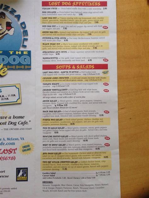 lost cafe mclean menu 1 yelp