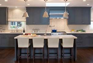 Kitchen Cabinets Blue Design Trend Blue Kitchen Cabinets 30 Ideas To Get You Started Home Remodeling Contractors