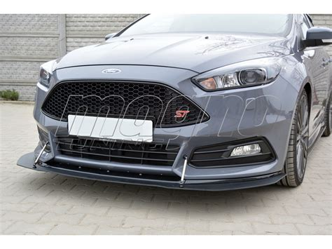 ford focus  st facelift  rs front bumper extension