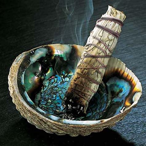 clearing negative energy   ancient art  smudging