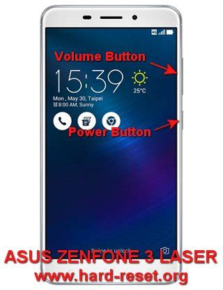 On Volume Asus Zenfone 3 Laser Zc551kl how to easily master format asus zenfone 3 laser zc551kl