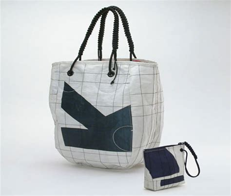 Sailcloth Totes From Flag Design by Recycled Sail Bag Style Guru Fashion Glitz