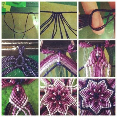 Macrame Flower Knot - mandala macrame bow pictures of mandalas
