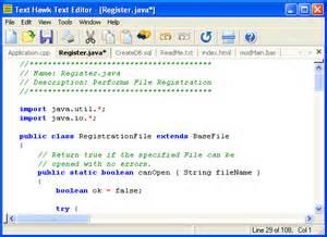 design text editor in java text hawk text editor screenshots