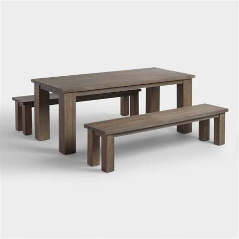 world market bench dining wood san paolo dining bench world market