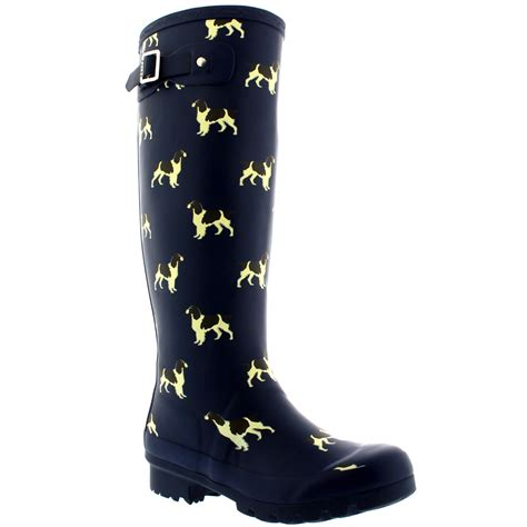 Rains Boot Animal animal print winter waterproof rubber wellingtons