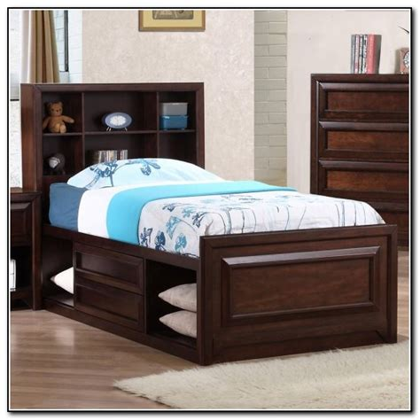 oak captains bed oak twin captains bed beds home design ideas