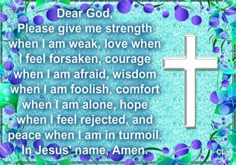 a prayer for comfort prayer for strength and comfort quotes pinterest