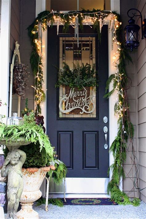 Front Door Entrance Decorating Ideas | christmas ideas 2013 christmas front door entry and porch