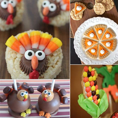 thanksgiving themed pictures pictures of thanksgiving desserts for kids popsugar moms