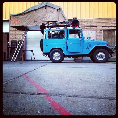 Fj40 Roof Rack by Set Up For Adventures 1978 Toyota Fj40 With A Freshly