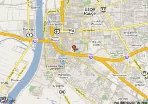 Map Of Baton Rouge Louisiana by Map Of La Quinta Inn Baton Rouge Baton Rouge