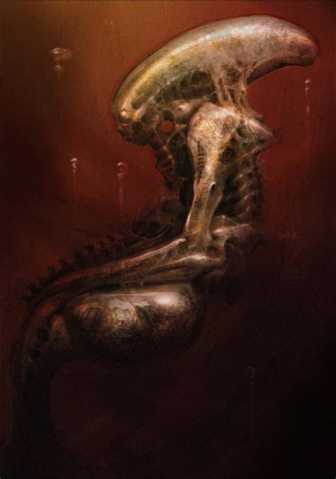 here s the concept art that inspired the robot from the spoiler free movie sleuth images alien inspired sci fi