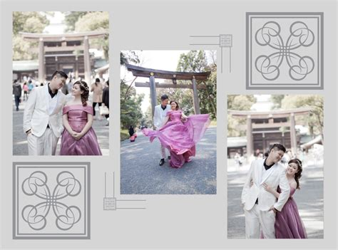layout album pre wedding daryl chloe tokyo pre wedding photoshoot dream wedding