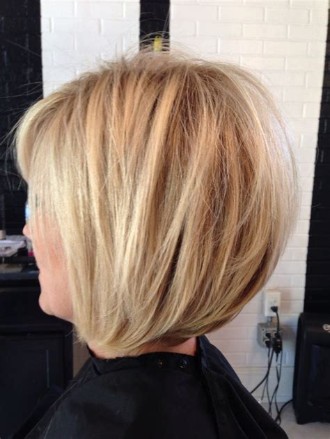 ppictures of razor cut bob hairstyles dimensional blonde bright blonde stacked bob razored