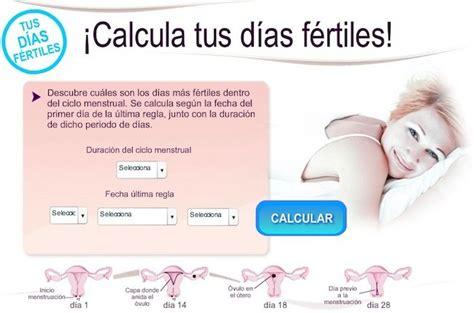 Calendario Hormonal Calcula Tus D 237 As F 233 Rtiles En El Tel 233 Fono M 243 Vil