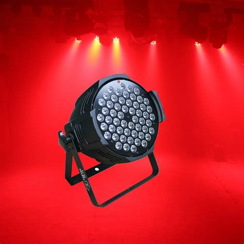 led stage lighting kit aliexpress com buy 54 3w par led rgb dmx 512 dj stage