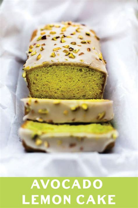 avocado cake avocado lemon cake naive cook cooks
