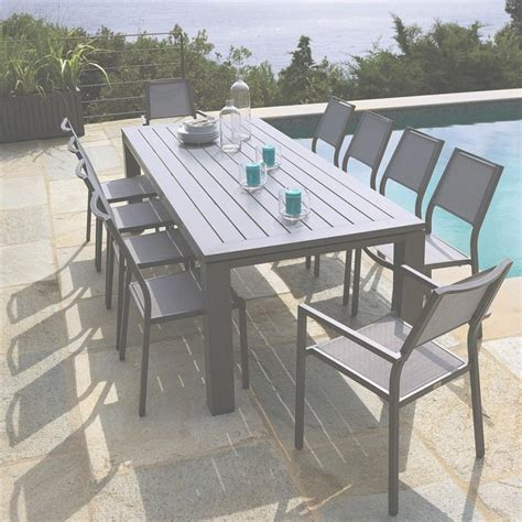 table jardin leclerc table de jardin en bois leclerc salon de jardin exterieur