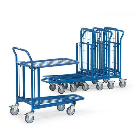 cc wagen kaufen einkaufswagen quot lagerwagen quot mit doppelter ladefl 228 che
