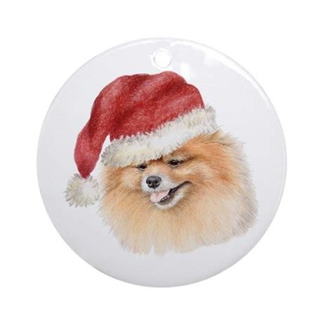 pomeranian ornament pomeranian ornament by doggyprint