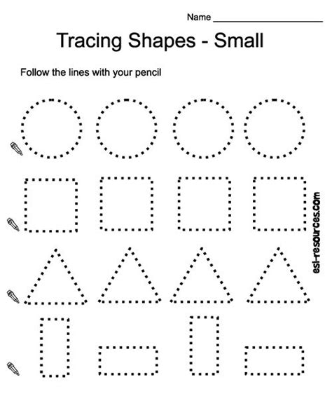 free printable learning shapes best 25 shapes worksheets ideas on pinterest tracing