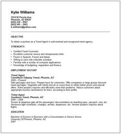 Travel Officer Sle Resume by Travel And Tourism Industry Resume Exles