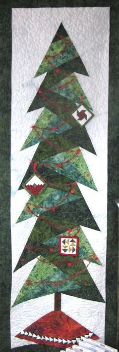 christmas tree paper pieced christmas tree in july a bit shorter tree by cindi edgerton for island batik designer pattern