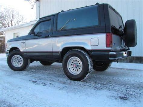 service manual 1990 ford bronco ii roof trim removal 1990 ford bronco 72k original miles non