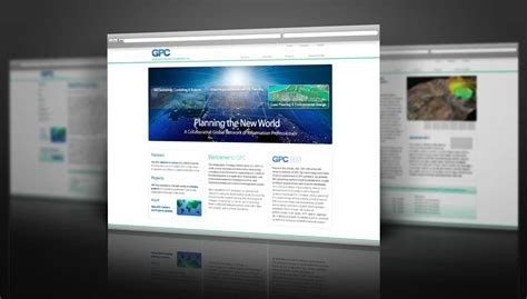 html design mockup web design mockups for gpc inc robert rusnak